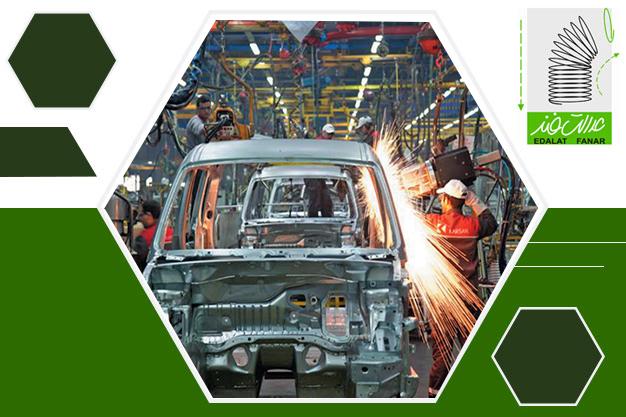 تولید فنر در صنایع خودرو سازی