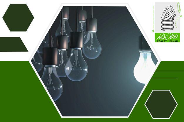 تولید فنر در صنایع روشنایی